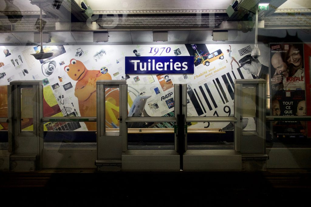 Station de métro Tuileries